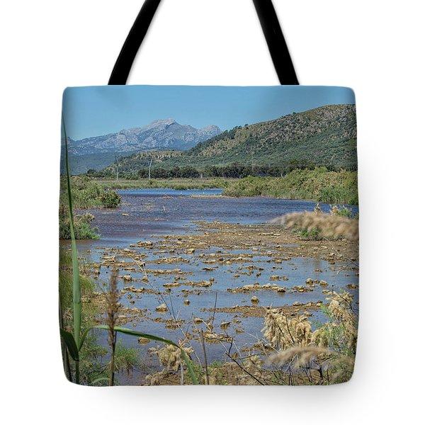 Wetlands Mallorca Tote Bag