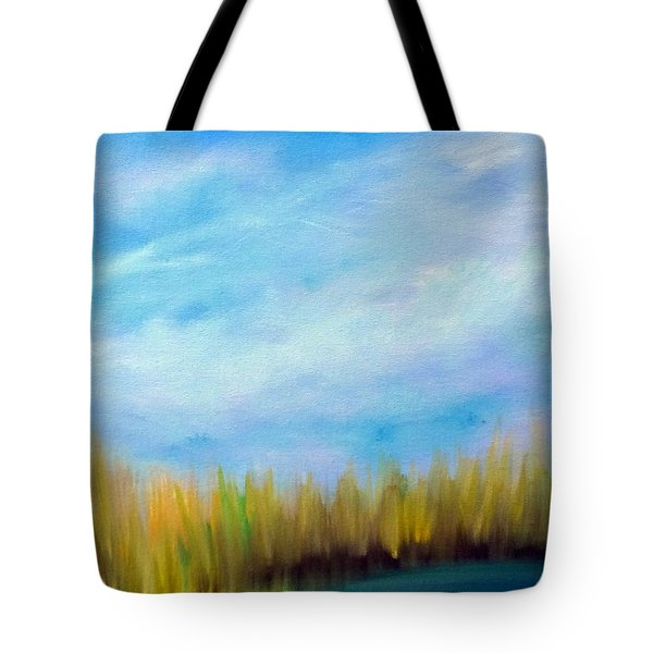 Wetlands Morning Tote Bag