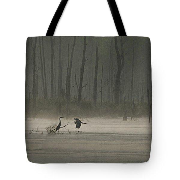 Wetlands Morning Tote Bag
