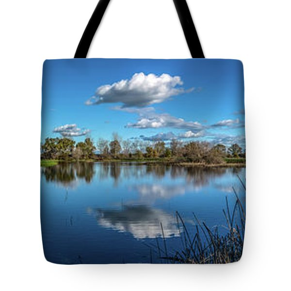 Wetlands Panorama  Tote Bag
