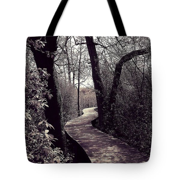 Wetlands Trail Tote Bag
