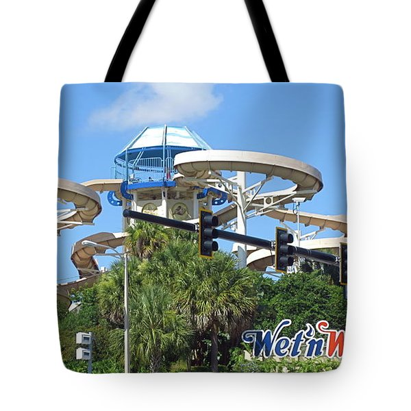Wet'n Wild Ride. Orlando, Fl Tote Bag