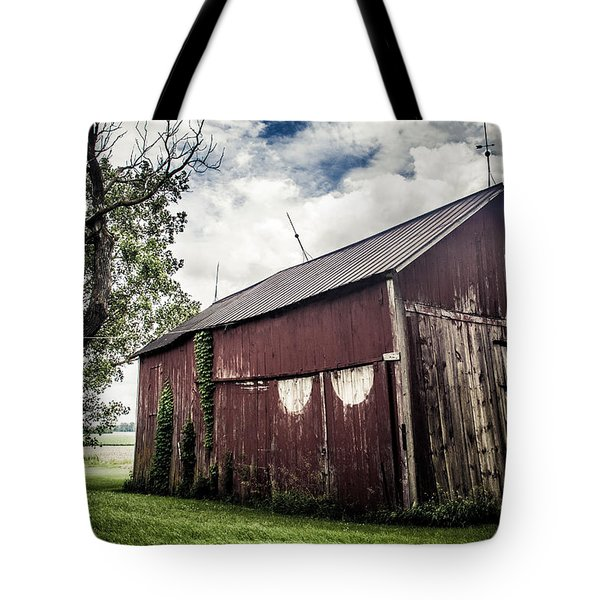 We've Been Here Awhile  Tote Bag