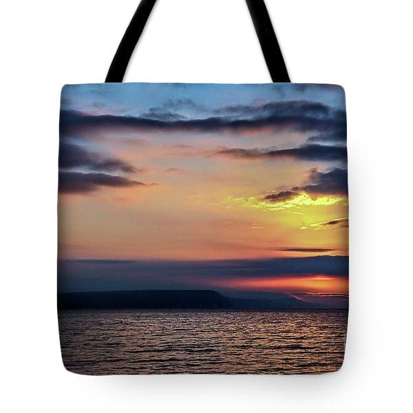 Weymouth Esplanade Sunrise Tote Bag