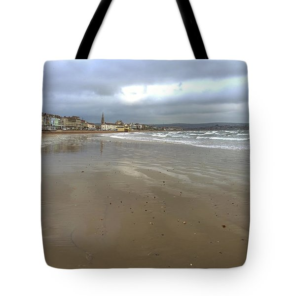 Weymouth Morning Tote Bag by Anne Kotan