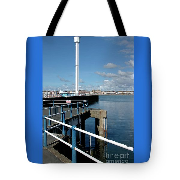 Weymouth Pavillion Pier And Tower Tote Bag by Baggieoldboy