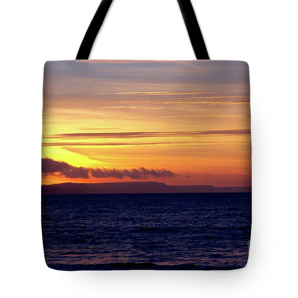 Weymouth To Purbeck Tote Bag