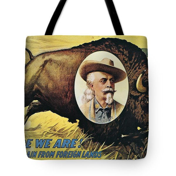 W.f.cody Poster, 1908 Tote Bag by Granger