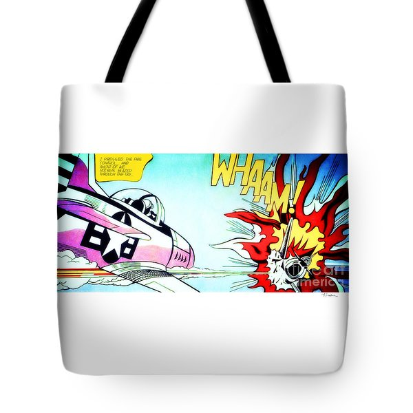 Whaam Tote Bag
