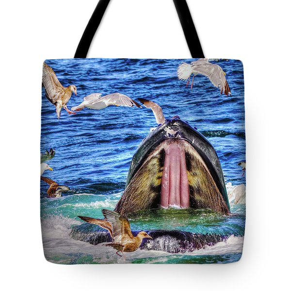Whale 279 Tote Bag
