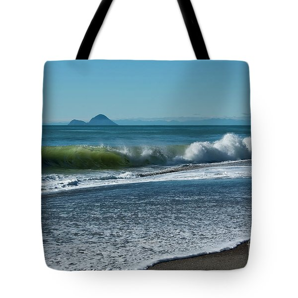 Tote Bag featuring the photograph Whale Island by Werner Padarin