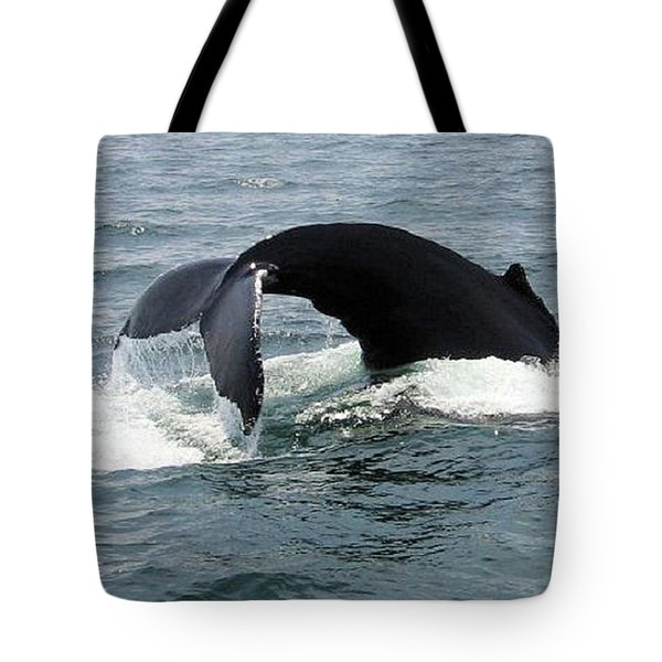 Whale Of A Tail Tote Bag