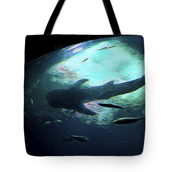 Whale Shark Of The Earth Tote Bag