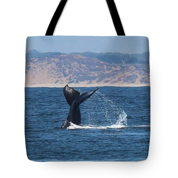 Whale Tail  Tote Bag by Christy Pooschke