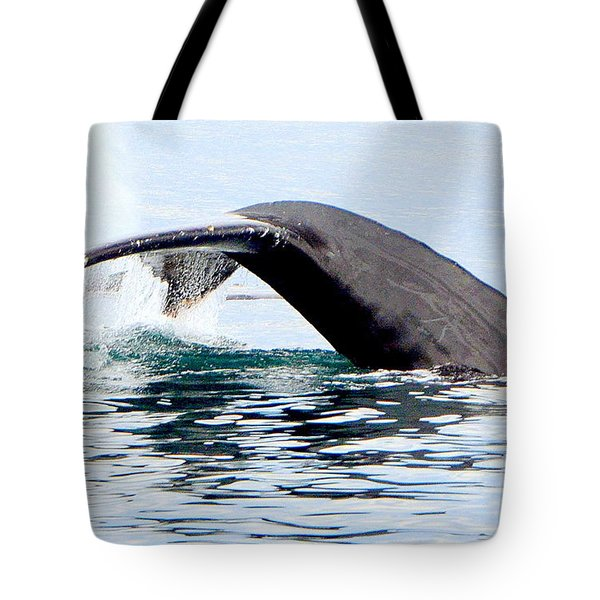Whale Watch Moss Landing Series 24 Tote Bag