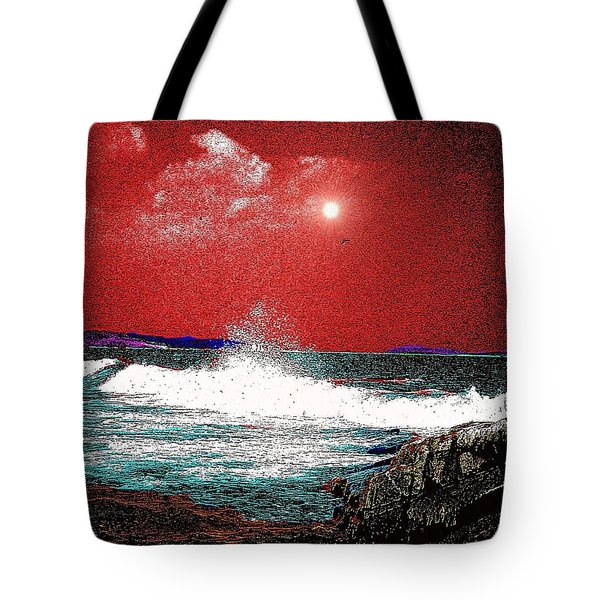 Whaleback At Peaks Island Maine Tote Bag
