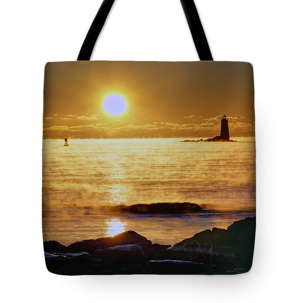 Whaleback Light 264 Tote Bag