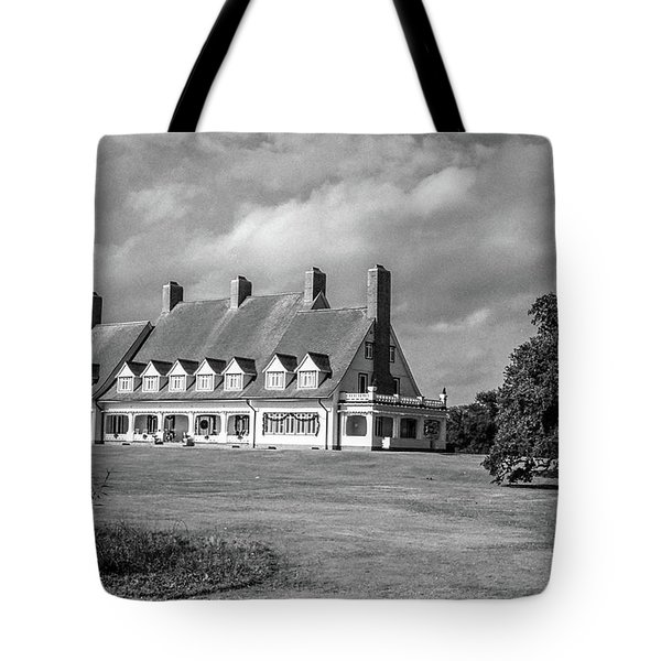 Whalehead Club Tote Bag