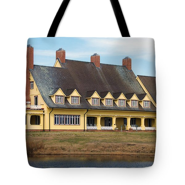 Whalehead Club Tote Bag by Kelvin Booker