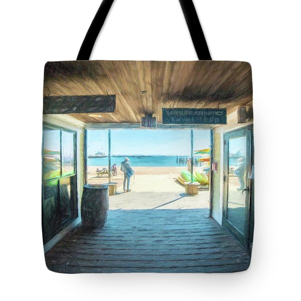Whaler's Wharf Tote Bag
