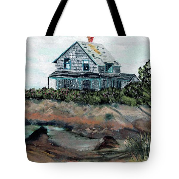 Whales Of August House Tote Bag