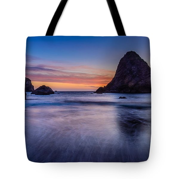 Whaleshead Beach Sunset Tote Bag