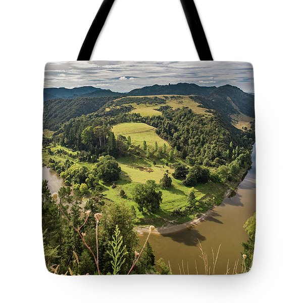 Tote Bag featuring the photograph Whanganui River Bend by Gary Eason