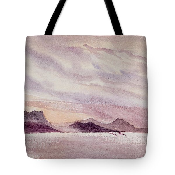 Whangarei Heads At Sunrise, New Zealand Tote Bag
