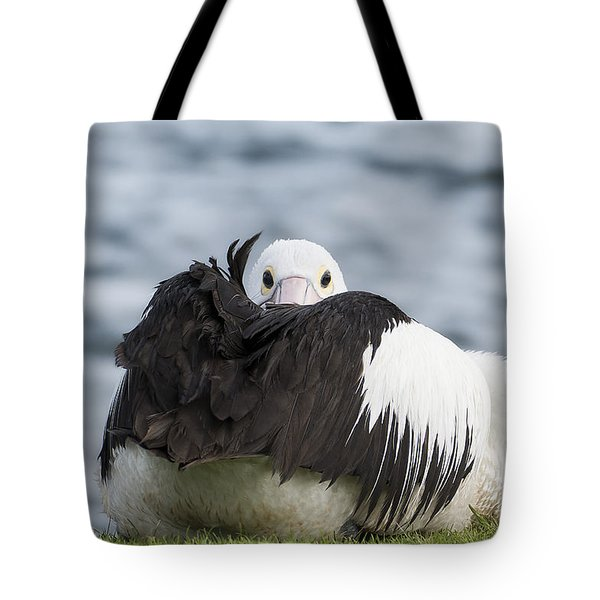 What 011 Tote Bag by Kevin Chippindall