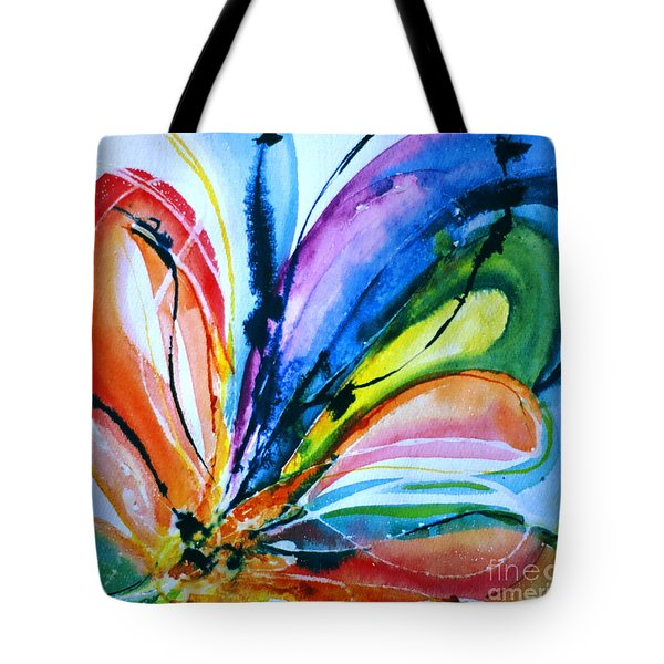What A Fly Dreams Tote Bag