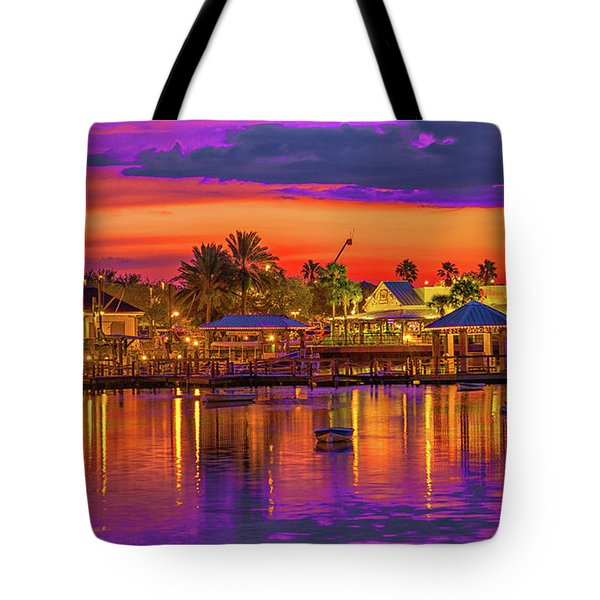 What A Night Tote Bag