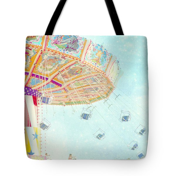 What A Ride Tote Bag by Amy Tyler