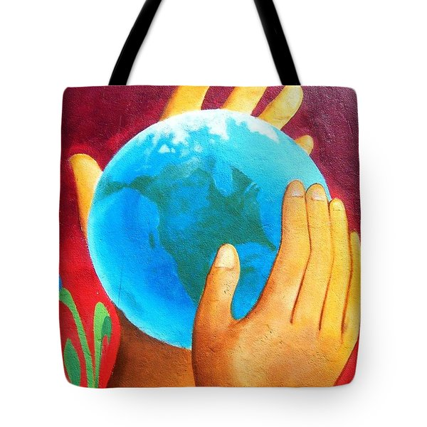 What A Wonderful World ... Tote Bag