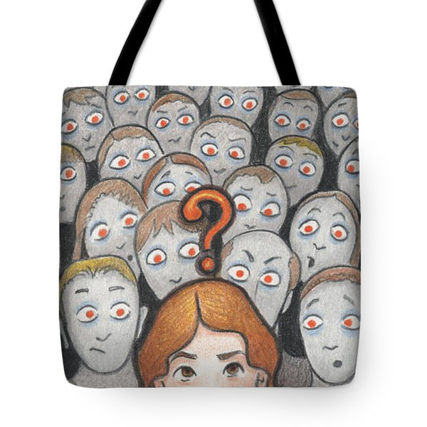 What Tote Bag by Amy S Turner