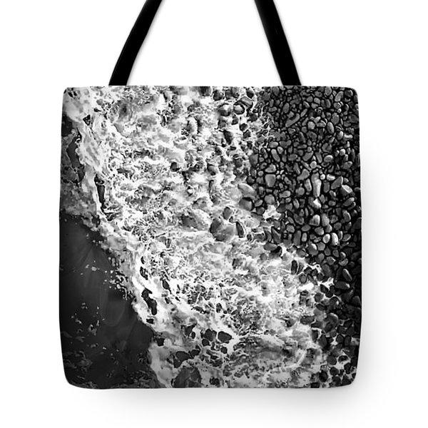 What Are Waves, Black And White Tote Bag