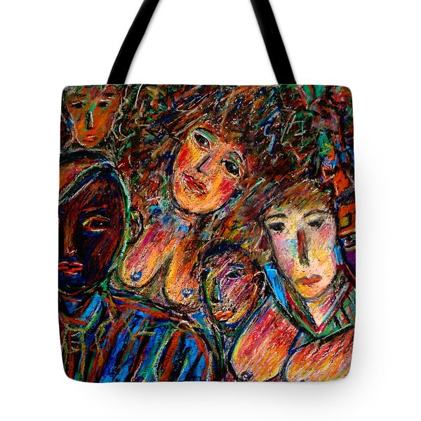 What Are You Looking At-17 Tote Bag by Natalie Holland