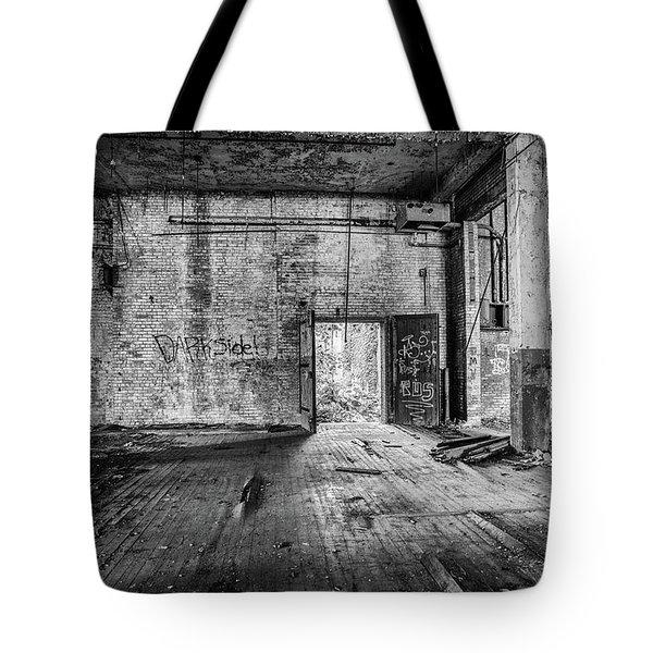 What Awaits Outside Tote Bag
