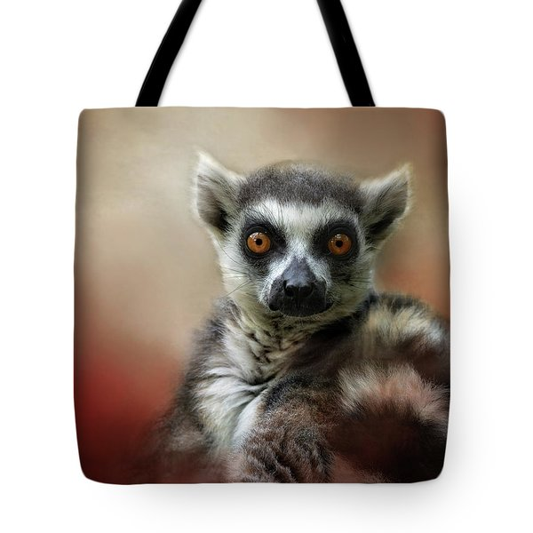 What Big Eyes You Have Tote Bag by Kathy Russell