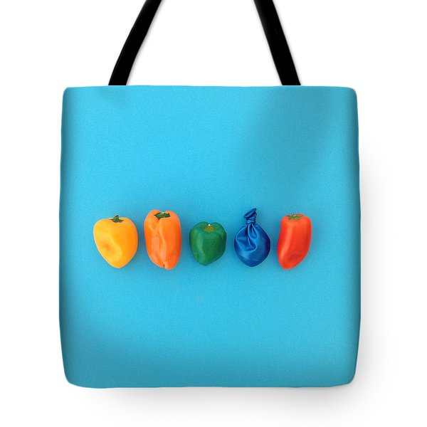 What Color Is The Intruder?  Tote Bag