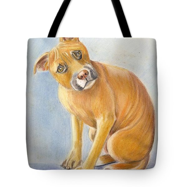 What Did You Say Tote Bag by Ruth Seal