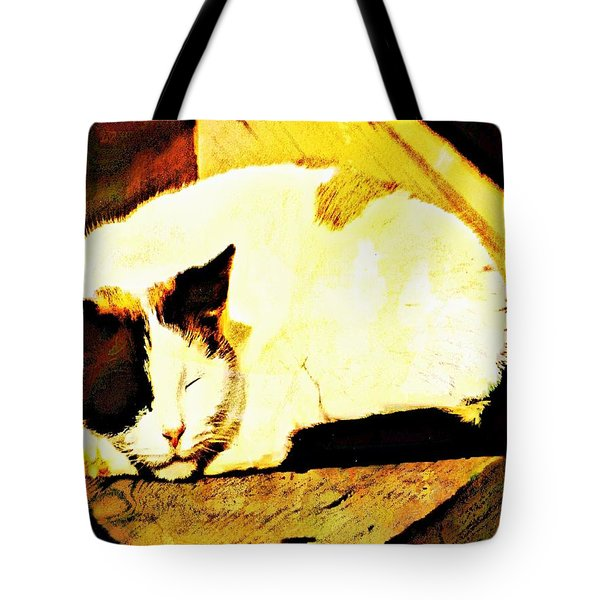 What Do Cats Dream Of Tote Bag