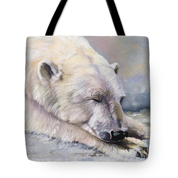 What Do Polar Bears Dream Of Tote Bag