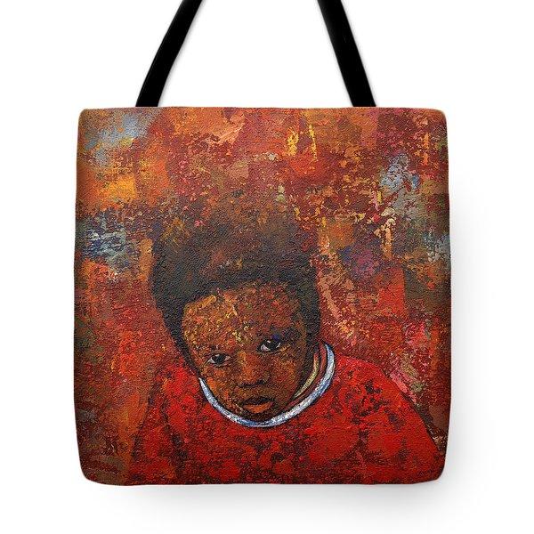 What Do U See Tote Bag by Ronex Ahimbisibwe