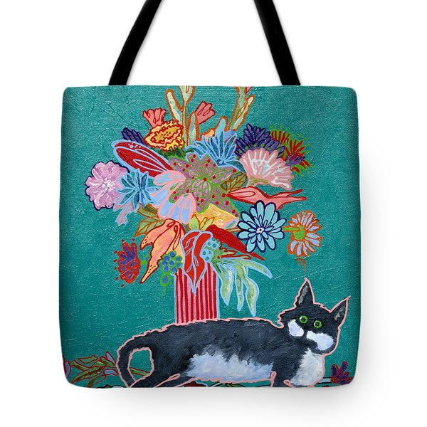 What Flowers Tote Bag