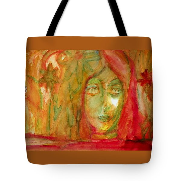 What Grew In My Garden Last Night While I Slept Tote Bag