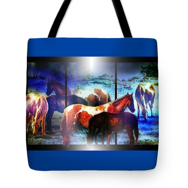 What  Horses Dream Tote Bag
