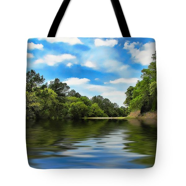 What I Remember About That Day On The River Tote Bag