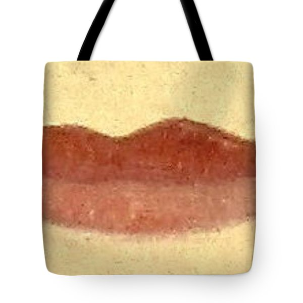 Tote Bag featuring the painting What Is Beauty by Bill OConnor