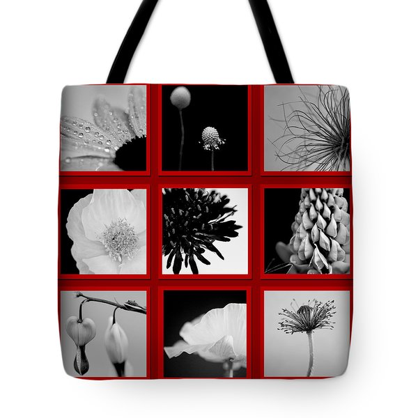 What Is Black And White And Red All Over  Tote Bag by Lisa Knechtel