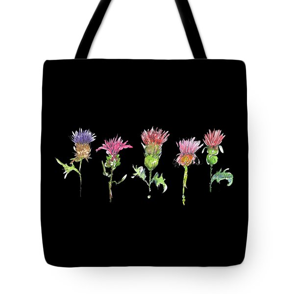 What Is It About A Thistle Fl006 Tote Bag